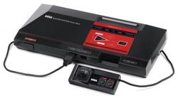 image de la console master-system