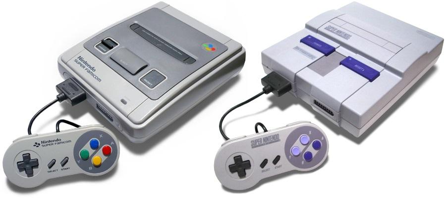 image de la console SNES