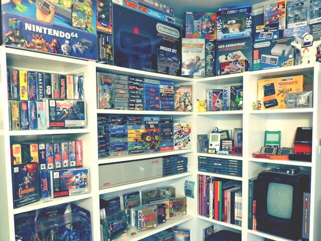 Collection de jeux et figurines vintages
