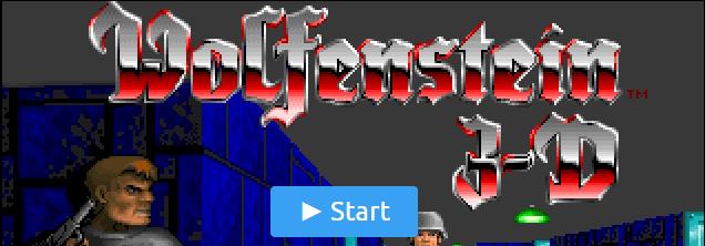 Bannière Wolfenstein 3D