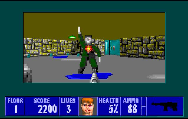 Niveau 2 de Wolfenstein