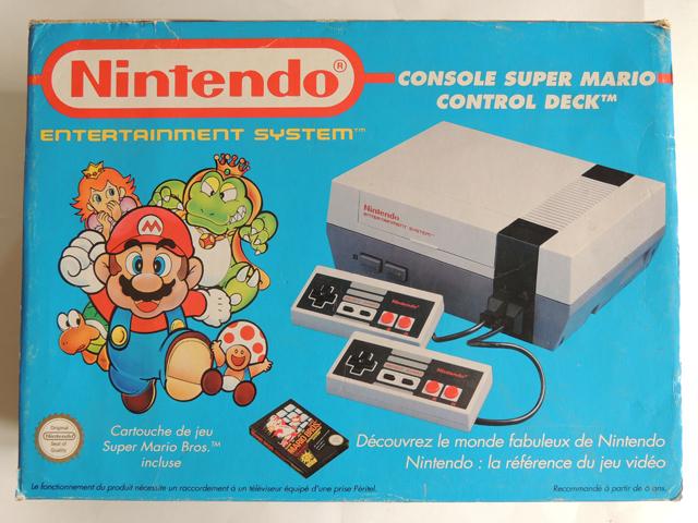 pack NES Mario bleu face