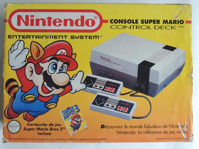 Pack control deck Mario jaune