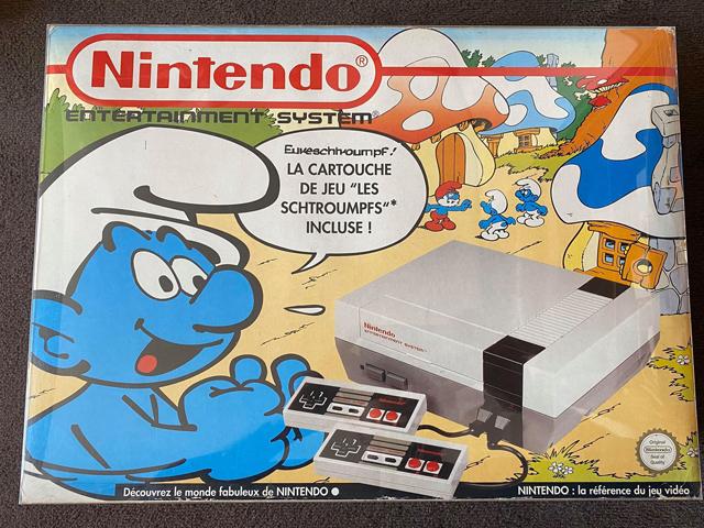 Pack NES Shtroumpf
