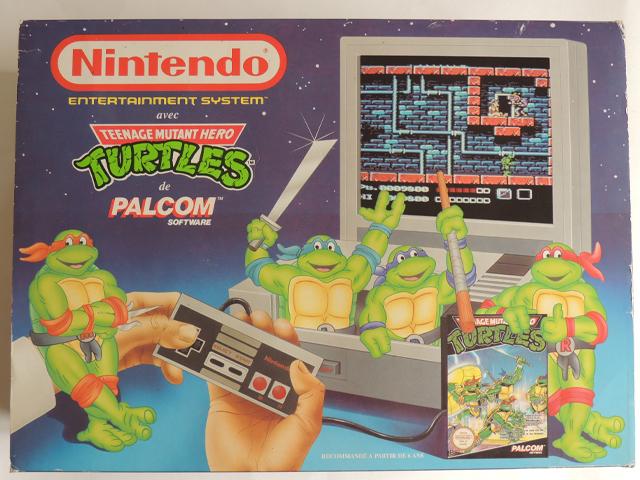 pack NES tortues ninjas