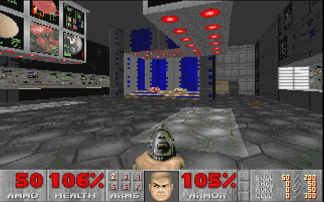 image doom 1993 level 1