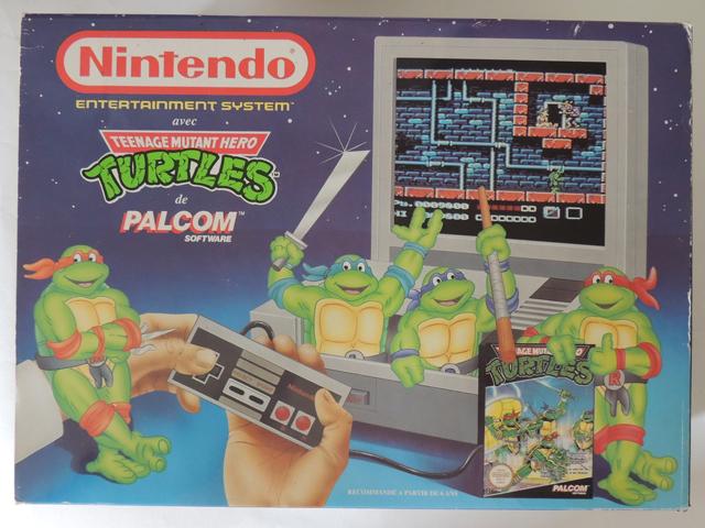 Pack NES Teenage mutant Turtles