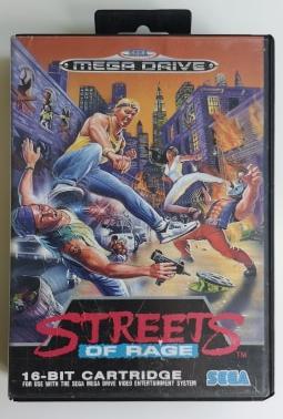 STREETS OF RAGE MEGADRIVE