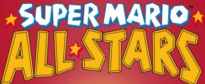 Titre Super mario all stars